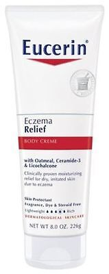 Eucerin Eczema Relief Body Creme  8 Oz