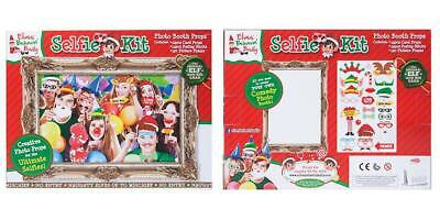 Fun Christmas Party Themes (The Xmas Elf Themed Selfie Frame and Props Christmas Party)
