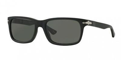 Persol Sunglasses model PO3048S 900058 Matte Black / Grey Polarized Glass (Persol Models)