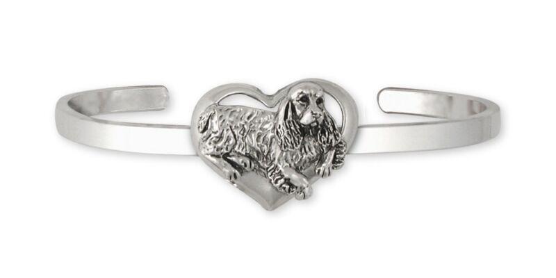 Springer Spaniel Bracelet Jewelry Sterling Silver Handmade Dog Bracelet SS2-CB
