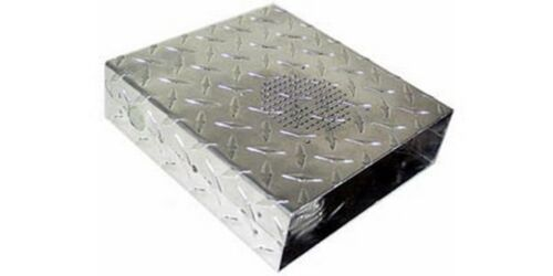 RC2978 Diamond Plate Case Cover For Cobra 29LTD Radios-Front Mic FASTEST SHIP