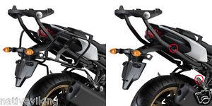 Yamaha FZ8 GIVI PLXR366 RAPID RELEASE RACKS FOR V35 TYPE PANNIERS