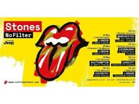 2 x Rolling Stones Tickets- 19th June- Great Seats! Middle tier and close to stage!