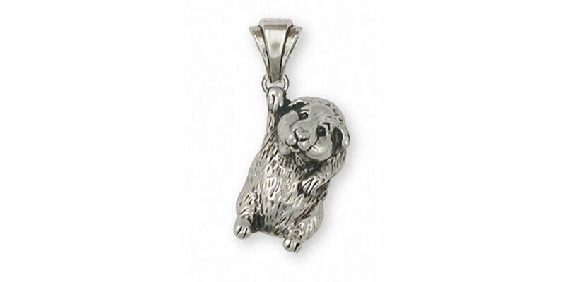 Guinea Pig Pendant Jewelry Sterling Silver Handmade Piggie Pendant GP5-P