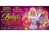 2 Tickets to Beauty and the Beast at Nottingham Theatre Royal