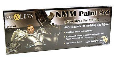 Scale 75 Non Metallic Metal - Steel Paint Set - 38759