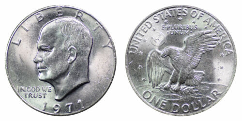 1971-P Eisenhower Dollar Brilliant Uncirculated