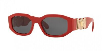 NEW Versace 4361 Sunglasses 533087 Red 100% AUTHENTIC