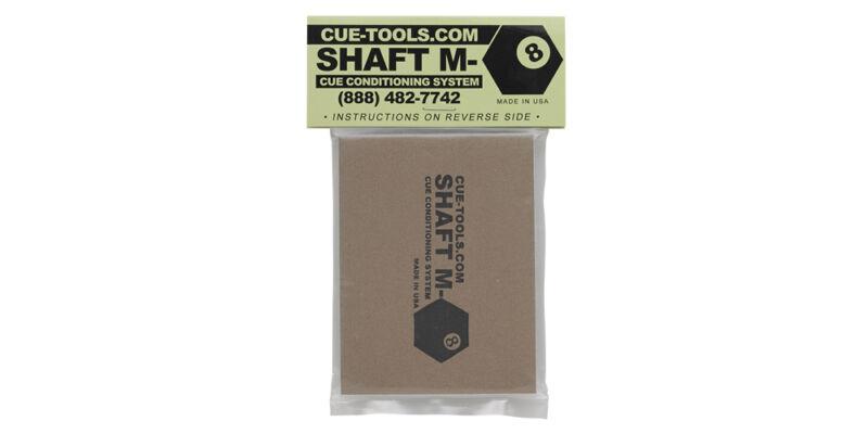 Shaft M-8 Pool Cue Shaft Cleaner, Conditioner, Burnisher, Polisher (Q Wiz)