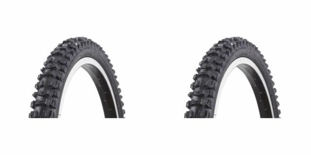 """2 X Kenda K816  24"""" X 1.95"""" MTB Road Bike Bicycle Wire Bead Tyre Black KT109C"""