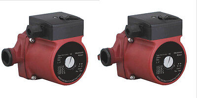 Lot Of 2 G 1220v Hot Water Circulation Pump 3-speed Circulating Pump