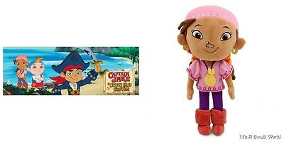 Disney Store Jake and the Never Land Pirates Izzy Plush Soft Doll Size 11