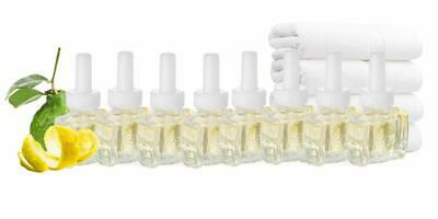 3 Fresh Linen Plug in Refills for Glade Wick Renuzit US Made