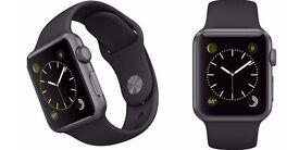 Apple Watch 42mm space grey sports wrist band