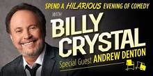 """2 BRONZE TICKETS """"AN EVENING WITH BILLY CRYSTAL"""" SYDNEY SUN.10Jul Quakers Hill Blacktown Area Preview"""