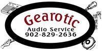 Audio Service, amplifier, speaker, repair, DJ, DMX, audio
