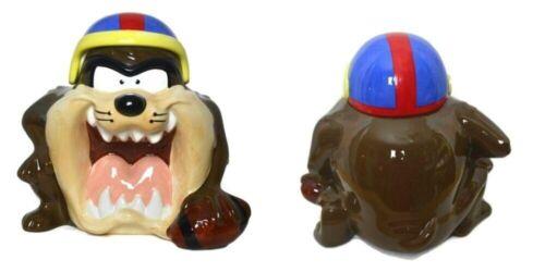 Taz Football Helmet Ball Vintage Cookie Jar 1993 Warner Brother Tasmanian Devil
