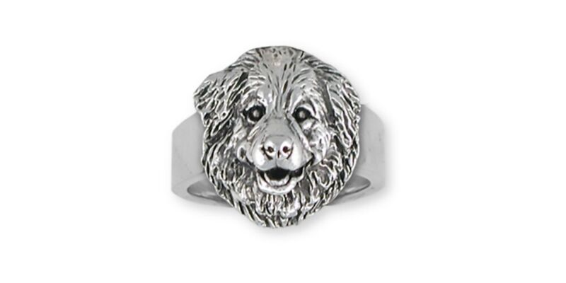 Great Pyrenees Ring Jewelry Sterling Silver Great Pyrenees Charms And Great Pyre
