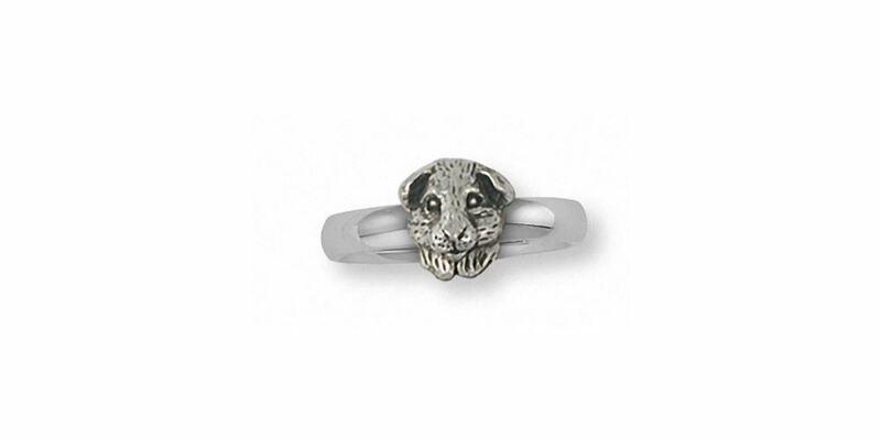 Guinea Pig Ring Jewelry Sterling Silver Handmade Piggie Ring GP4H-R