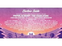 2 weekend Electricfields tickets plus car parking £100