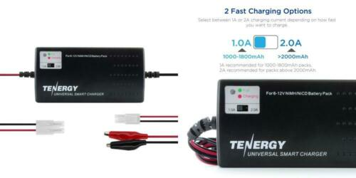 Tenergy Universal RC Battery Charger for NiMH/NiCd 6V-12V Ba