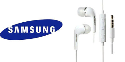 Original Samsung Stereo Headset Kopfhörer Weiß Passend für alle Samsung Modelle Stereo Headset Kopfhörer