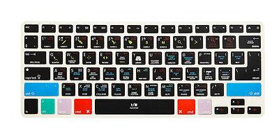 Logic Pro X Hot Shortcut key Keyboard Cover Skin For Macbook Pro Air 13 15
