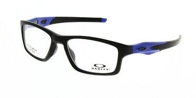 NEW AUTHENTIC OAKLEY CROSSLINK OX8090-0953 Satin Black Frame RX 53mm 17 137