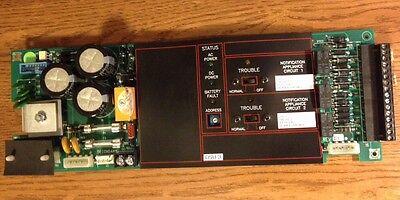 Fci Gamewell 7200 Fire Alarm Dsu 1120-0476 Dual Signal Unit