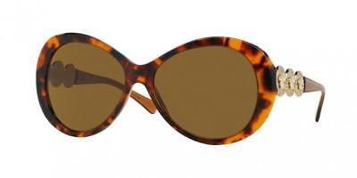 NEW VERSACE AUTHENTIC sunglasses 4256B 5074/73 Havana Brown 58 15 135 4256