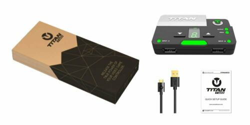 Titan Two Games Console Cross-Platform Controller Converter/Adapter [NEW]