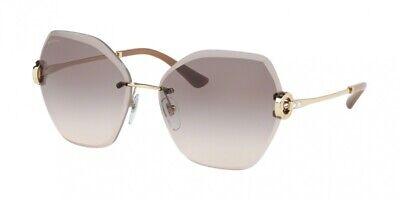 NEW Bvlgari 6105B Sunglasses 278/3B Gold 100% AUTHENTIC