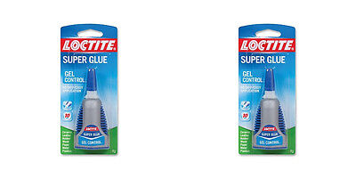 Henkel 234790 Loctite Super Glue Gel Control 2 Pack