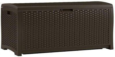 Suncast DBW7300 Resin Wicker Deck Box 73