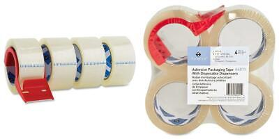 Sparco Packing Tape, with 48 Millimeters Width x 50 Meters Length, CLEAR