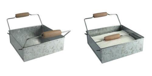 Artland Masonware Napkin Holder, Galvanized