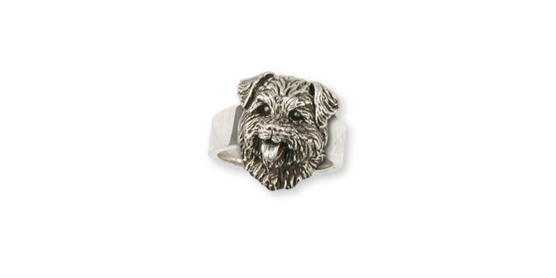Norfolk Terrier Ring Jewelry Sterling Silver Norfolk Terrier Charms And Norfolk