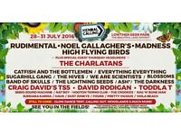 Kendal Calling 2016 tickets Thurs - Mon including camping and car parking.