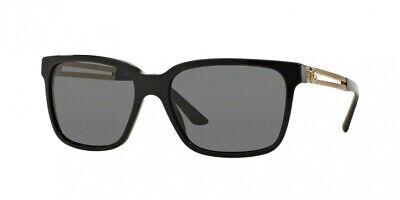 NEW Versace 4307 Sunglasses GB1/87 Black 100% AUTHENTIC