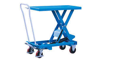 Hydraulic Scissor Lift Table Cart 660 Lbs. Capacity Eoslift Ta30 - Ship Free