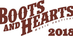 1 Boots and Hearts ticket GA Full Event *SOLD*