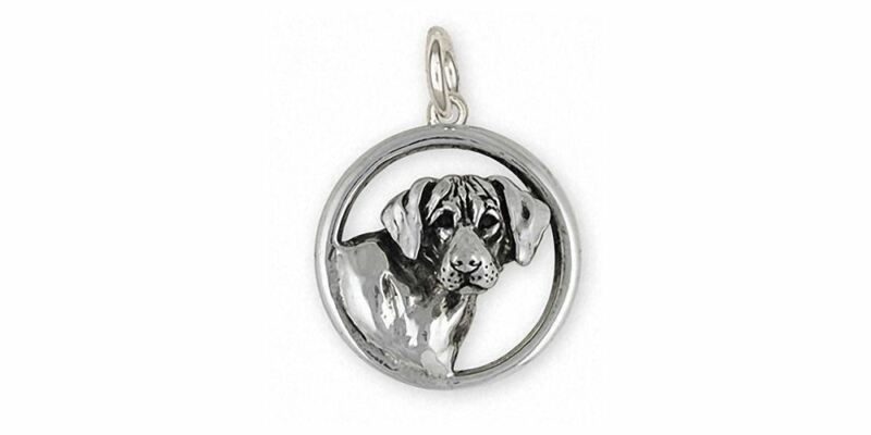 Rhodesian Ridgeback Charm Jewelry Sterling Silver Handmade Dog Charm RDG3-C