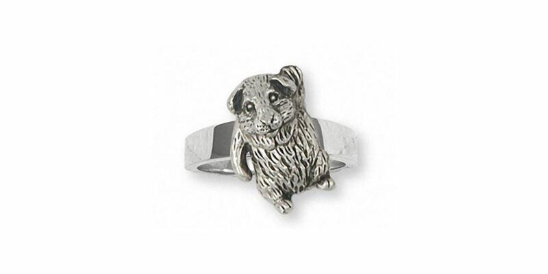 Guinea Pig Ring Jewelry Sterling Silver Handmade Piggie Ring GP3-R