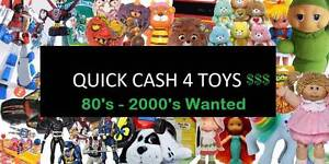 ==QUICK CASH 4 OLD TOYS== 80s 90s Power Rangers Etc Yokine Stirling Area Preview