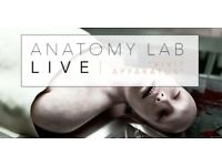 Leeds Anatomy Lab Live Tickets - Dinner and Live Autopsy