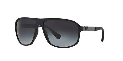 Emporio Armani Sunglasses EA 4029 5063/8G Black Rubber/Grey Gradient 64mm 50638G