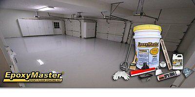 EpoxyMaster EMX001 Do-It-Yourself Epoxy Floor Paint Coating