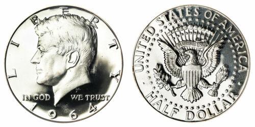 1964 Kennedy Half Dollar  Brilliant Uncirculated - BU (Choose How Many)