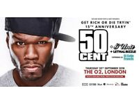 50 Cent London o2 STANDING