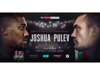 Anthony joshua vs Pulev tickets